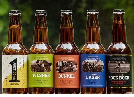 八ヶ岳ビールタッチダウン5種5本飲み比べ