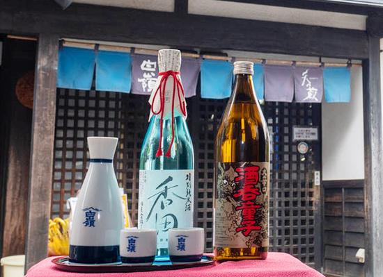 ハクレイ酒造 香田・酒呑童子ギフトセット