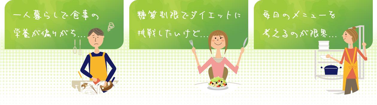 一人暮らしに!糖質制限ダイエットに!毎日のメニュー!
