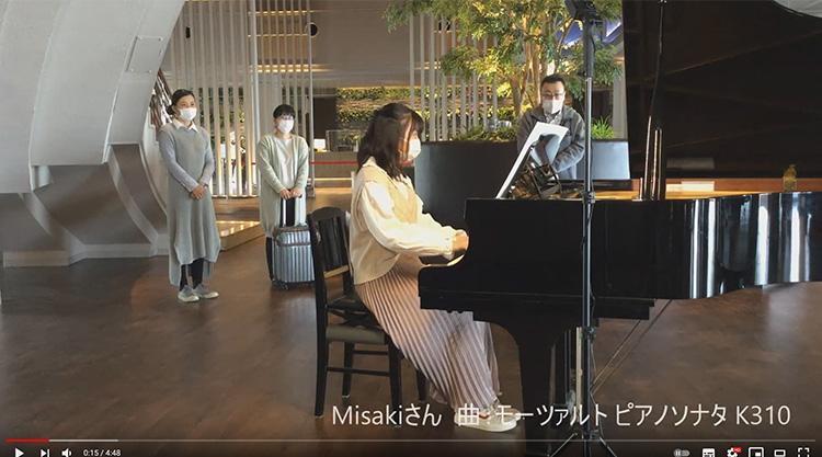 ホテルでピアノを弾いてみた♪